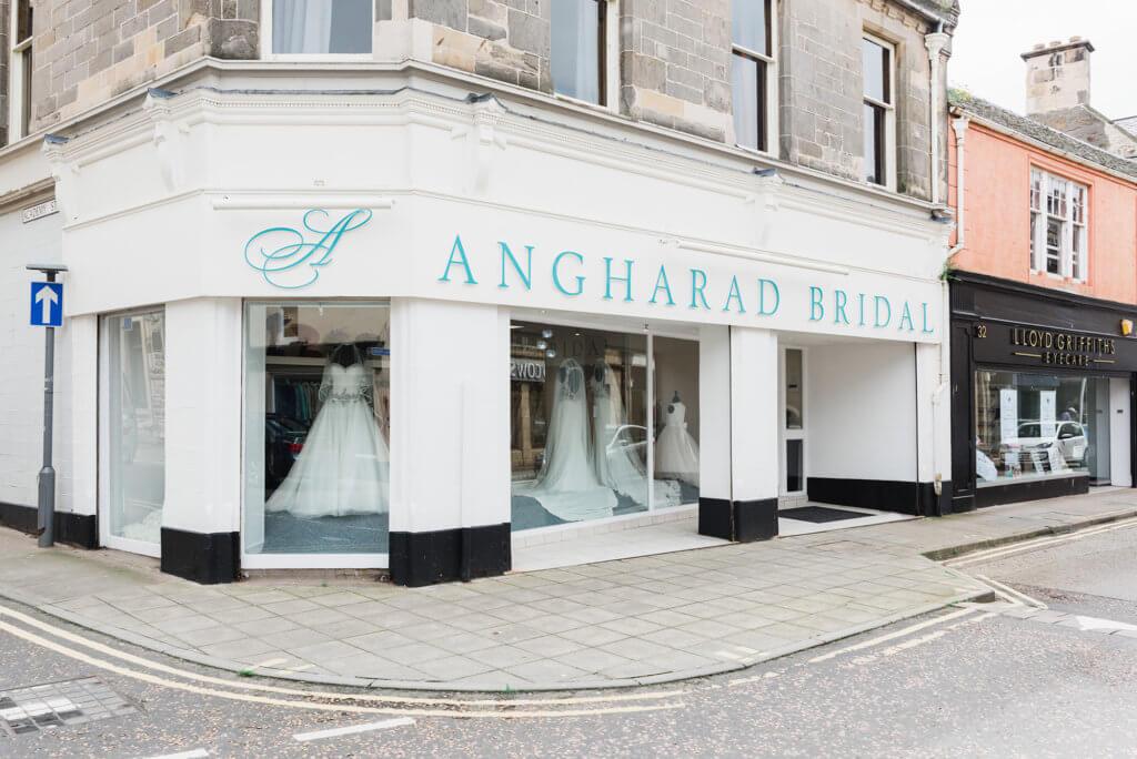 Angharad Bridal Shop Front
