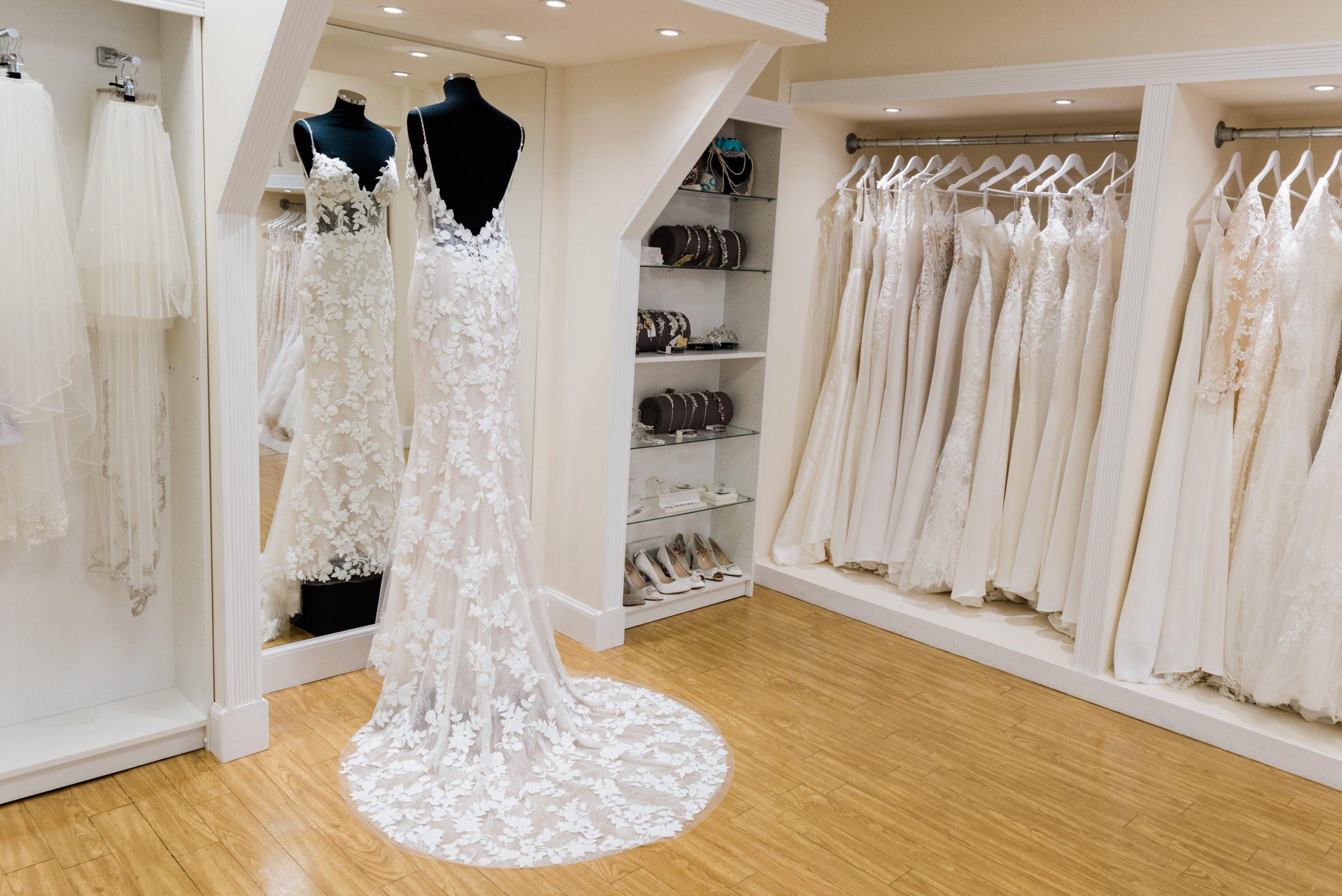 Angharad Bridal Dress In Mirror