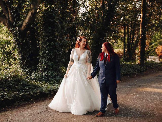 Megan and Shannen Woodland Garden Wedding