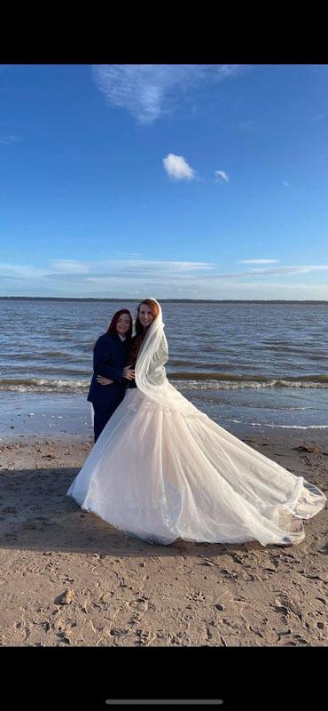 Megan and Shannen Woodland Wedding